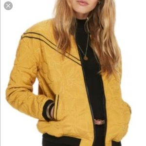 Scotch & Soda quilted bomber jacket XS